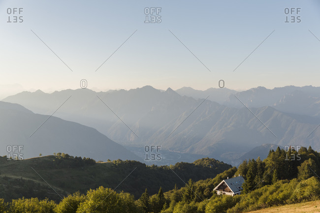 View of mountains, Mottarone, Italy