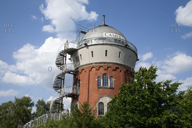 May 22, 2009: Image Museum, Camera Obscura, Water Tower, Mulheim an der Ruhr, Germany