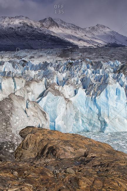 View of Viedma Glacier,  Los Glaciares National Park, Argentina