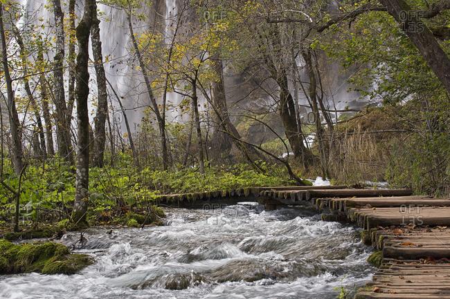 Upper falls, Plitvice National Park, Croatia