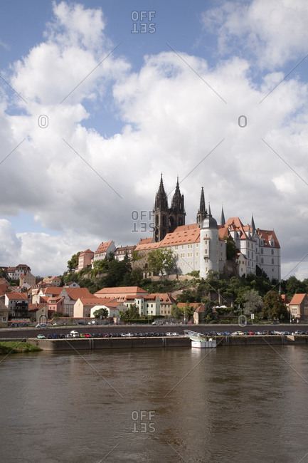 Albrechtsburg castle and Meissen Cathedral, Dresden, Germany