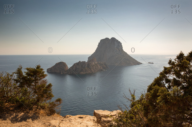 View of Es Vedra, Ibiza, Spain