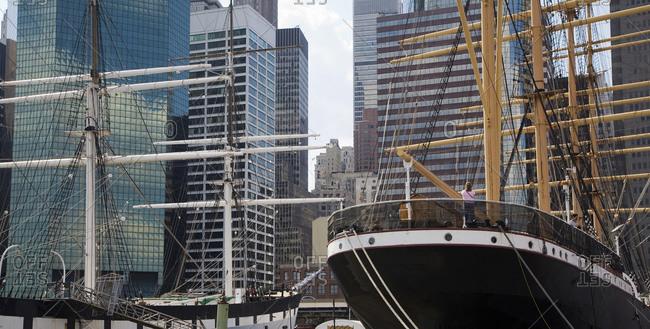 June 1, 2008: South Street Seaport museum, New York City, New York, USA