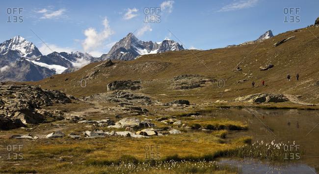 Matterhorn mountain in Swiss Alps, Switzerland