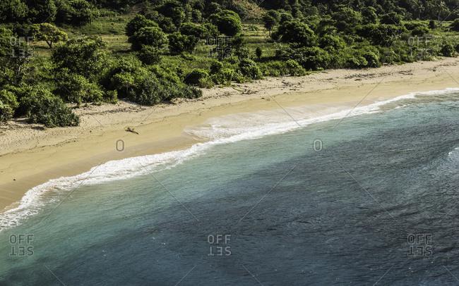 Mawi Beach in Lombok, Indonesia