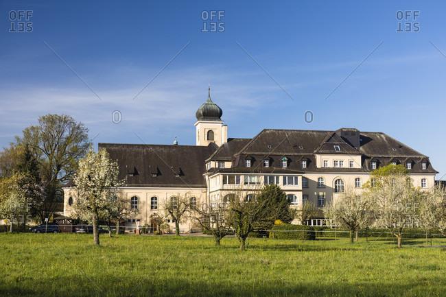 Malteserschloss, Heitersheim, Baden, Black Forest, Baden-Wuerttemberg, Germany