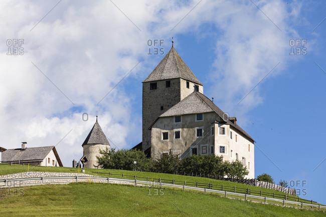 Castle St. Martin in Thurn (Ladin Museum), Val Badia, Bolzano district, South Tyrol, Alto Adige, Dolomites, Trentino-Alto Adige, Italy