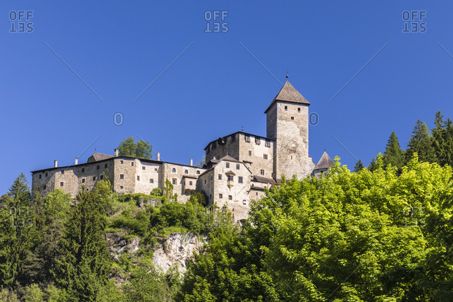 Taufers Castle, Sand in Taufers, Ahrn Valley, Puster Valley, Alps, Dolomites, Trentino, South Tyrol, Alto Adige, Italy