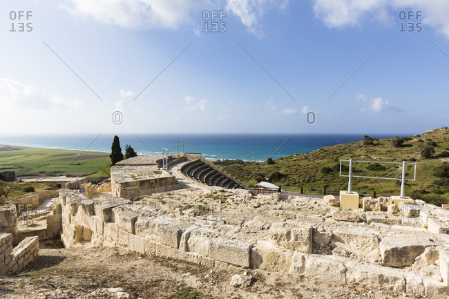Amphitheatre at the Archaeological site of Kourion, Cyprus