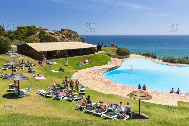 May 11, 2015: Swimming Pool at Prainha Club Resort, Praia dos Tres Irmaos