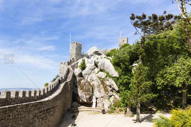 May 17, 2015: Castelo dos Mouros, UNESCO World Heritage Site