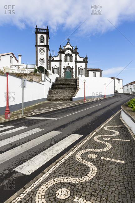 Parish church by the road