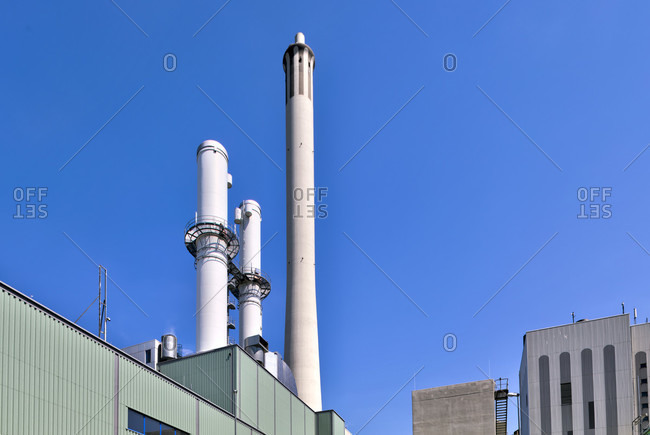BS Energy, power plant, public utility, energy supply, technology, architecture, Braunschweig, Lower Saxony, Germany, Europe