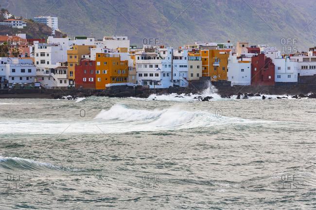 Spain- Canary Islands- Puerto de la Cruz- Coastline of Punta Brava neighborhood