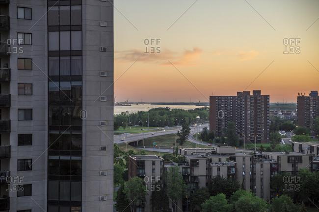 Condominiums in Longueuil, Quebec, Canada