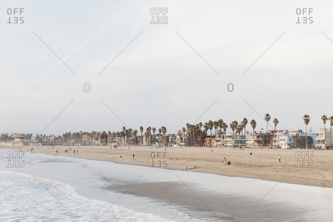People on Venice Beach, Los Angeles, California, USA