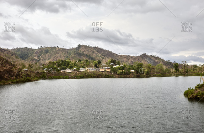 Bogakain Lake located in the Chittagong Hill Tracts of Bangladesh