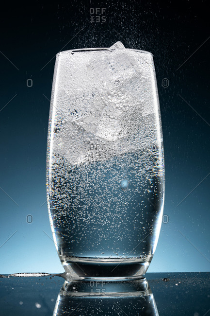 Shot of a refreshing cold drink