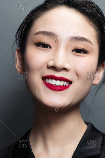 The image of the beauty smile