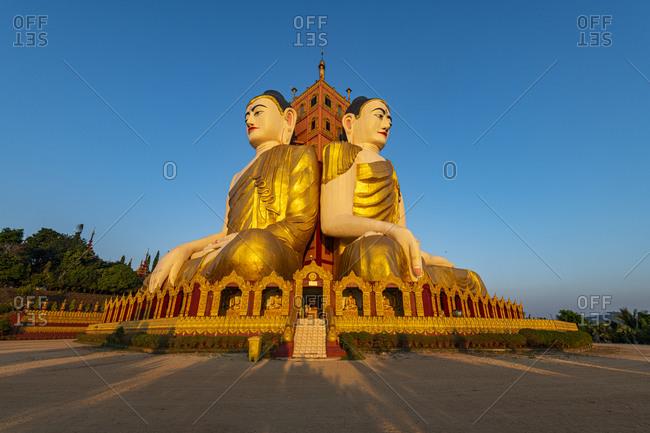 Myanmar- Mon State-KoYin Lay Pagoda at dusk