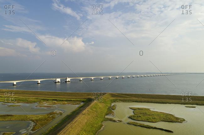 The Zeelandbrug (Zeeland Bridge) in Zierikzee, Zeeland, Netherlands