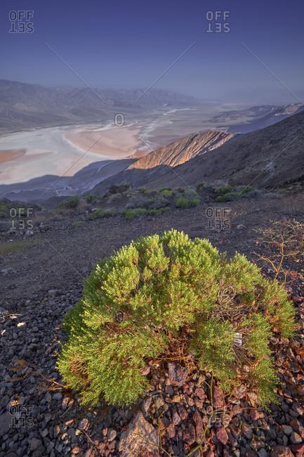 USA, United States of America, Nevada,  Death Valley National Park, Dantes View, Sierra Nevada, California