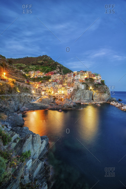 Italy, Cinque Terre, Manarola, Tuscany, Liguria