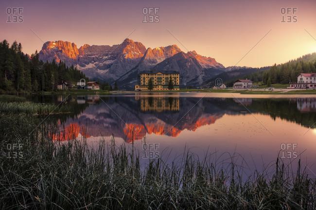 Italy, Dolomites, Lago di Misurina, Sesto, Europe
