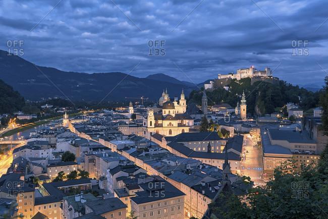 Austria, Moenchsberg, Salzburg, Europe,