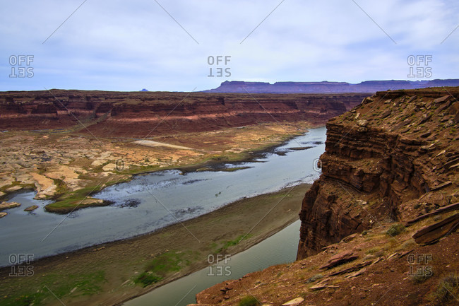 USA, United States of America, Utah, Arizona, Glen Canyon, National Recreation Aromaphyte Overlook,