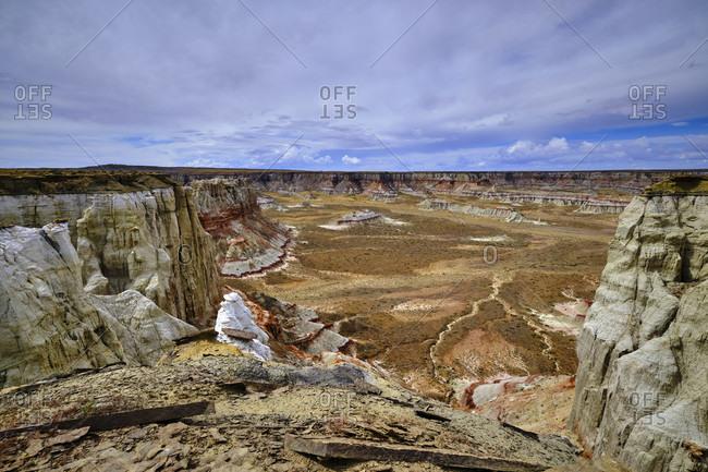 USA, United States of America, Arizona, Utah, Coal Mine Canyon, Tuba City, Coal Mine Mesa, Moenkopi Plateau,