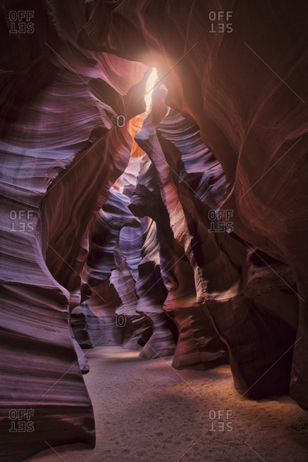 USA, United States of America, Utah, Page, Upper Antelope Canyon,