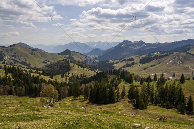 Europe, Germany, Bavaria, Bavarian Alps, Sudelfeld, Tatzelwurm, Brannenburg, Bayrischzell