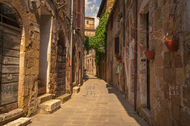 Europe, Italy, Tuscany, Tuscan Landscape, Province of Grosseto, Pitigliano, Oldtown, Etrusk Town,