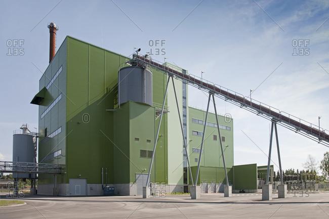 Estonia - September 22, 2020: Power Plant Exterior
