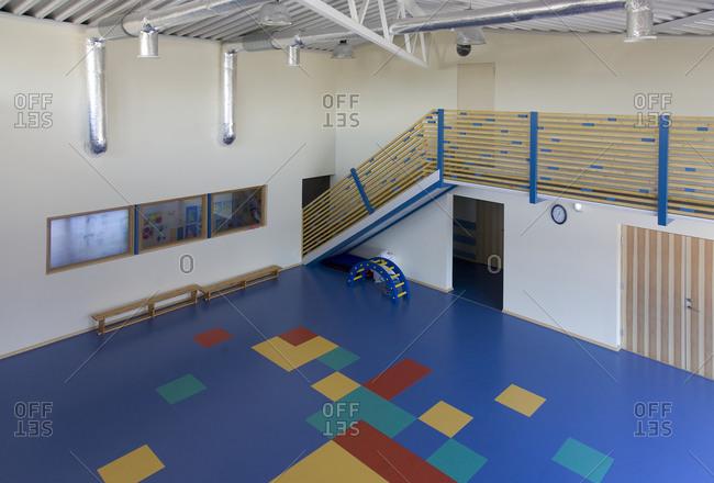 Primary School PE Building distance shot