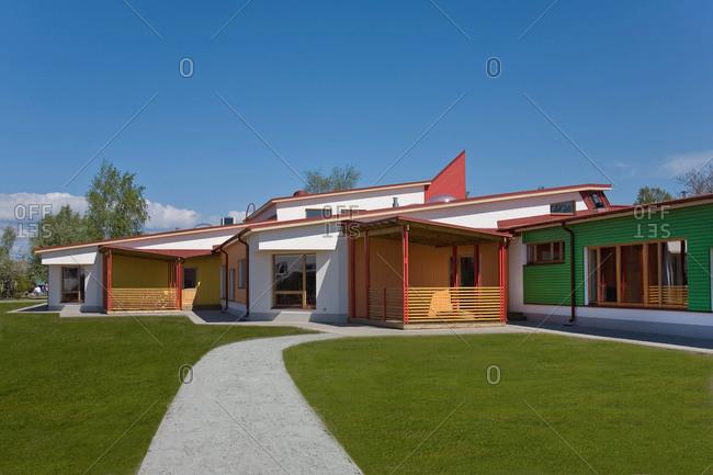 Estonia - September 22, 2020: Primary School Building