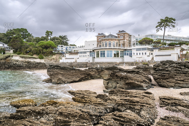 April 4, 2020: Hotel on the Atlantic ocean, france,