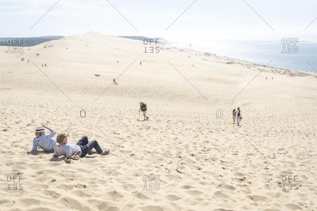 France, arcachon, dune du pilat