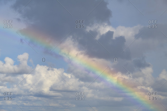 Rainbow, Kitzmiller, national park thy, north sea, north Jutland, Denmark