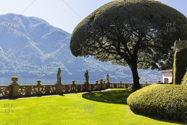 Villa del balbianello, lenno, lombardy, italy