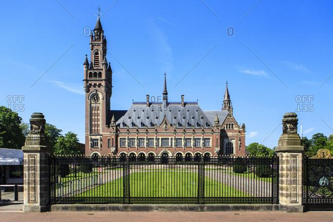 Haag, netherlands, international peace palace