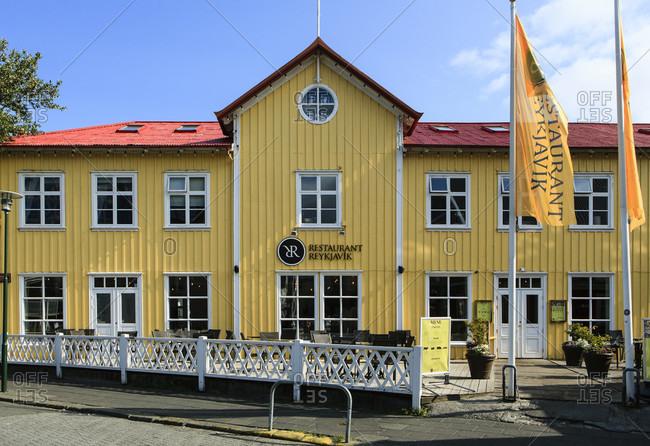July 8, 2019: Reykjavik restaurant, iceland
