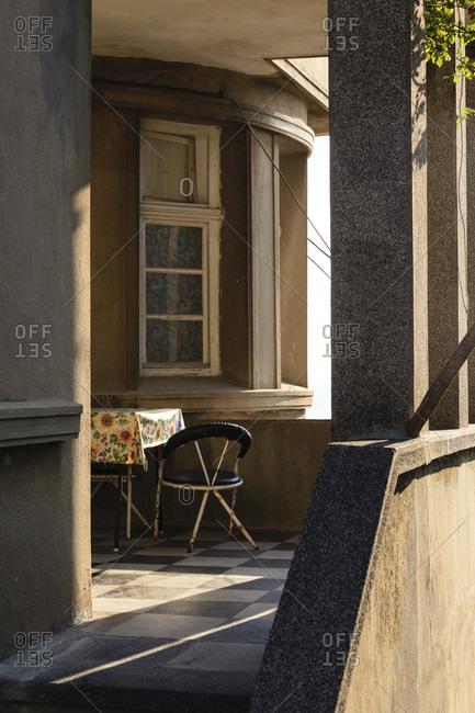 House entrance, terrace in obzor, bulgaria