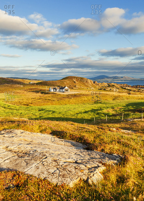 Rocky coastal landscape at Malin Head, along the Wild Atlantic Way