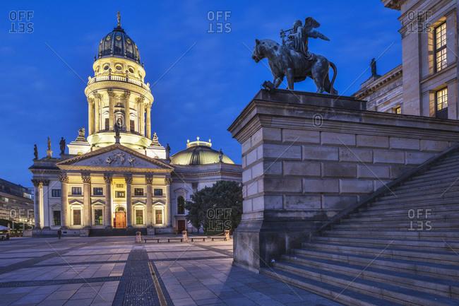 Concert Hall (Konzerthaus) and German Cathedral (Deutscher Dom)
