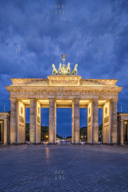 Brandenburg Gate at Pariser Platz in Germany