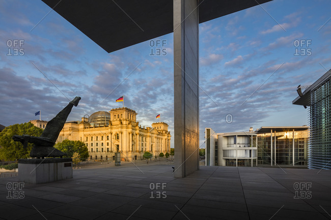 Germany - August 21, 2018: Reichstag Parliament Building