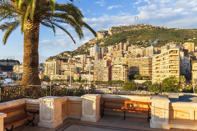 View of the harbor in Monaco