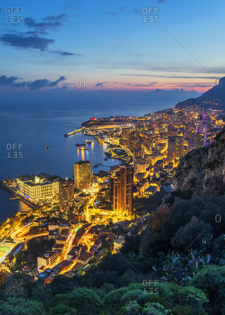 Panoramic view of the city, Italy
